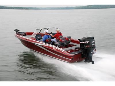 2018 Triton Boats 216 Fishunter Base   Angler's Choice