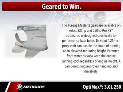 2018 Mercury Marine® OptiMax® 3 0L 250 HP Base | Angler's Choice